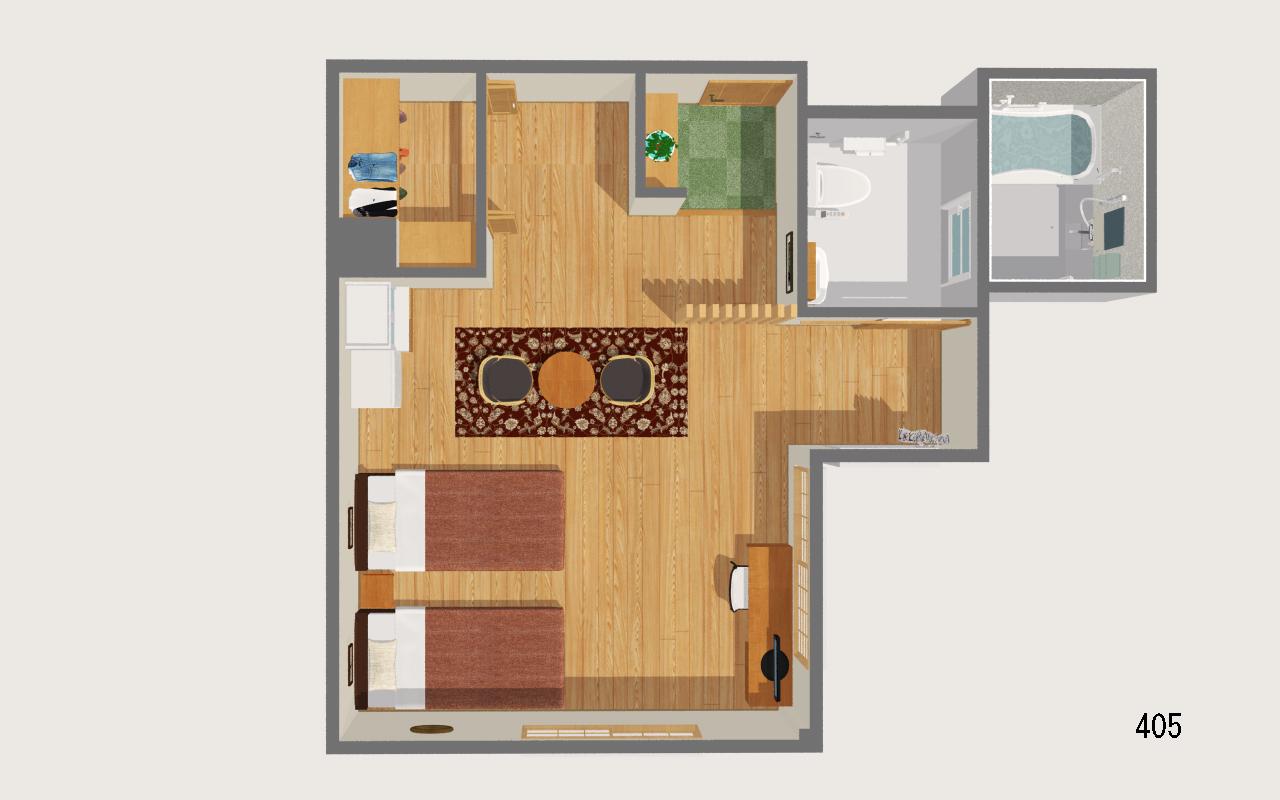 お部屋(405)